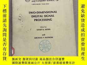 二手書博民逛書店two-dimensional罕見digital signal processing(P2212)Y17341