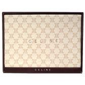 CELINE經典mini BLASON LOGO毛毯禮盒(駝色)084104