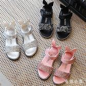 女童涼鞋 女寶寶涼鞋1-12歲2019夏季新款韓版公主女童防滑涼鞋潮 DJ9108 『毛菇小象』