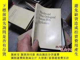 二手書博民逛書店wavelets罕見and other orthorgonal