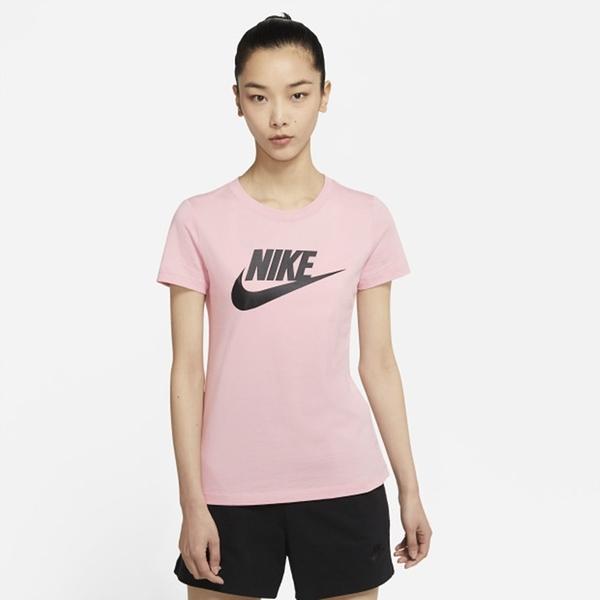 NIKE Sportswear Essential 女款 短袖 棉質 粉色 BV6170695 【KAORACER】