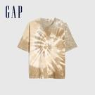 Gap男裝 個性紮染純棉短袖T恤 683859-紮染