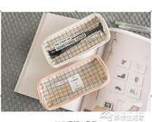 文具盒  韓國簡約透明鉛筆袋創意可愛小清新文具盒女  夢想生活家