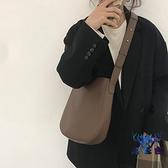 包包女時尚復古水桶包百搭大容量斜挎單肩包【古怪舍】