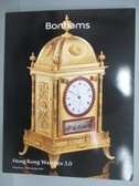【書寶二手書T9/收藏_PJA】Bonhams_HongKong Watches3.0_2019/11/26