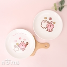 Kanahei圓形陶瓷餐盤 中款- Norns 卡娜赫拉小動物 兔兔P助 盤子 餐具食器