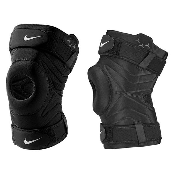 NIKE 護膝 PRO 3.0 開口 調節式 護套 護具 黑 運動 防護 (布魯克林) DA7069-010