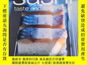 二手書博民逛書店sushi罕見taste and technique(壽司口味和