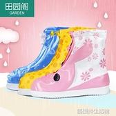 鞋套 雨鞋套兒童腳套防水雨天防雨鞋套男女童學生下雨鞋套防滑加厚耐磨
