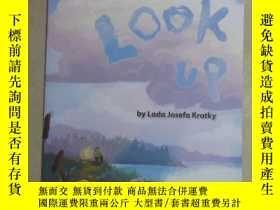 二手書博民逛書店英文書;罕見LOOK UP By Lada Josefa Kra