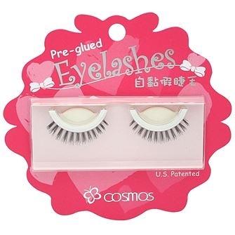 COSMOS自黏假睫毛 ★ V-1 (1對入) ★  ♥大眼娃娃假睫毛專賣店  近千種假睫毛品牌及款式♥