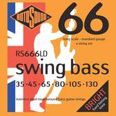 小叮噹的店 英國ROTOSOUND RS666LD (35-130) 六弦電貝斯弦 不銹鋼 旋弦公司貨