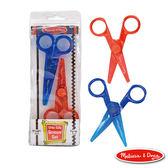 美國瑪莉莎 Melissa & Doug 兒童專用安全剪刀組合包(直線 + 鋸齒狀)