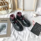 日系jk小皮鞋女學生韓版百搭復古英倫瑪麗珍制服春秋夏季薄款單鞋 雙十二全館免運
