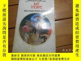 二手書博民逛書店KAY罕見THORPE, the man from tripol