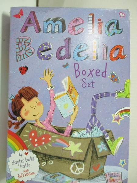 【書寶二手書T1/原文小說_BSS】Amelia Bedelia Chapter Books Box Set_Parish