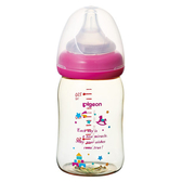 貝親 Pigeon 寬口母乳實感PPSU奶瓶160ml(木馬城堡)P00345[衛立兒生活館]