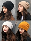 針織帽 秋冬季針織帽女正韓保暖毛線帽男英倫百搭可愛時尚帽子加厚防寒潮【快速出貨】