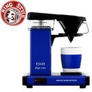 金時代書香咖啡   Moccamaster 單杯濾泡式咖啡機 CUP ONE BL 藍色(歡迎加入Line@ID@kto2932e詢問)