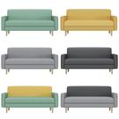 沙發 小戶型北歐臥室租房服裝店小沙發椅網紅款現代簡約單雙人沙發【快速出貨】