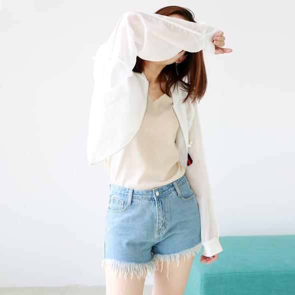 [超豐國際]W   街頭 織帶掛件 網紗棒球服外套 女  7