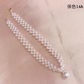預購韓國飾品-氣質珍珠-項鍊-05190-pipima