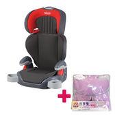 【送 寶寶樂透氣墊】GRACO 幼兒成長型輔助汽車安全座椅 Junior Maxi-淘氣紅