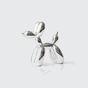 GREEN TREE PRODUCTS 中型氣球狗 銀