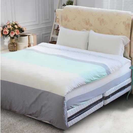 【Jenny Silk名床】夢彩.100%天絲.超柔觸感.雙人兩用鋪棉被套