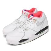 Nike 休閒鞋 Air Flight 89 白 銀 男鞋 運動鞋 【PUMP306】 CW2616-101