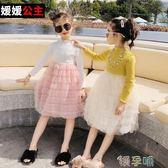 洋裝兒童女童洋裝2019新款春裝兒童中大童裙子韓版  嬡孕哺