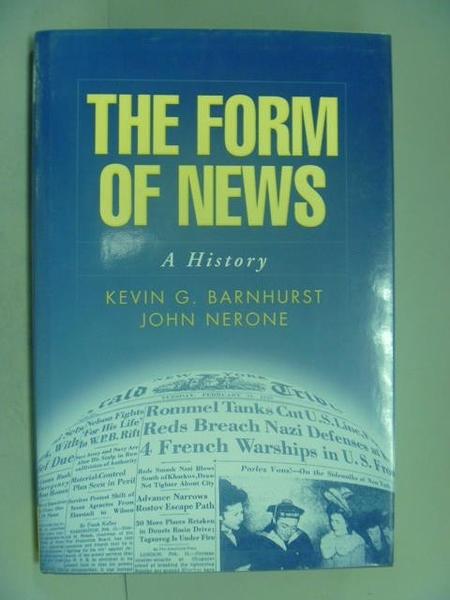 【書寶二手書T9/大學藝術傳播_ZHK】The form of news : a history_Barnhurst