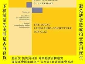 二手書博民逛書店The罕見Local Langlands Conjecture For GlY256260 Colin J B