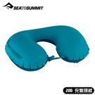 【Sea to Summit 澳洲 20D 充氣頸枕《水藍》】STSAPILULYHA/護頸枕/便攜式旅行枕/飛機枕