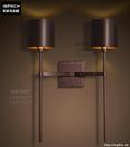 INPHIC- 工業復古雙頭壁燈現代簡約個性咖啡廳客廳臥室走廊過道壁燈_S197C