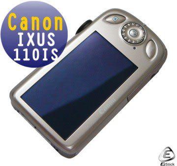 EZstick靜電式數位相機螢幕貼 - Canon IXUS 110IS 專用 (二入裝) 贈(通用型 相機機身貼)