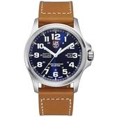 戰場系列藍寶鏡面腕錶-藍x白時標/45mm A1924 LUMINOX 雷明時