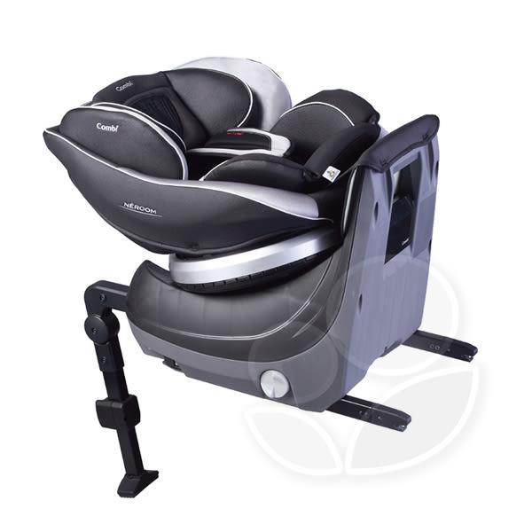 Combi 康貝 Neroom ISOFIX 旋轉式汽車安全座椅-公爵黑【佳兒園婦幼館】