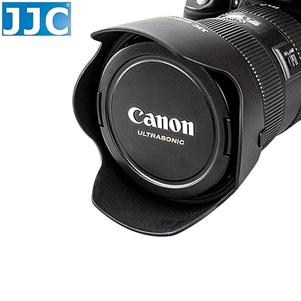 又敗家@JJC副廠Canon遮光罩EF第II代24-70mm F/2.8L USM相容Canon原廠遮光罩EW-88C遮光罩L鏡F2.8 F/2.8