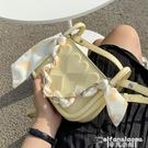 斜背包 爆款今年流行小包包女夏2021新款潮小眾設計高級感斜背包側背方包 【618 大促】