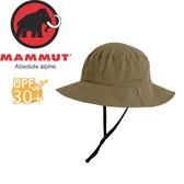 【MAMMUT Runbold Hat 男《白雲石灰》】1191-04611-4531/長毛象/UPF30/圓盤帽/遮陽帽/漁夫帽★滿額送