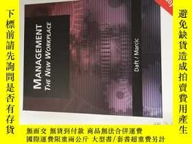 二手書博民逛書店Management罕見the new workplace管理新