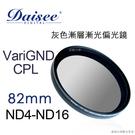 Daisee 數碼大師  82mm CPL DMC SLIM VariGND PRO灰色漸層減光偏光鏡 德寶光學 24期0利率