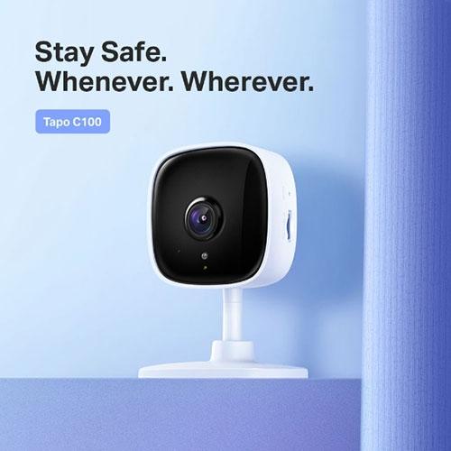 【限時至0531】 TP-LINK Tapo C100 家庭安全防護 Wi-Fi 1080P 攝影機 無線智慧 高清網路攝影機 監視器 IP CAM
