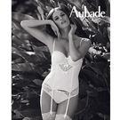 Aubade-蕾絲馬甲B-D(牙白)