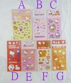 【震撼精品百貨】Hello Kitty 凱蒂貓~手機貼/K、M/腳踏車/咖啡/香菇/蘋果/鬱金香 貼紙【共7款】