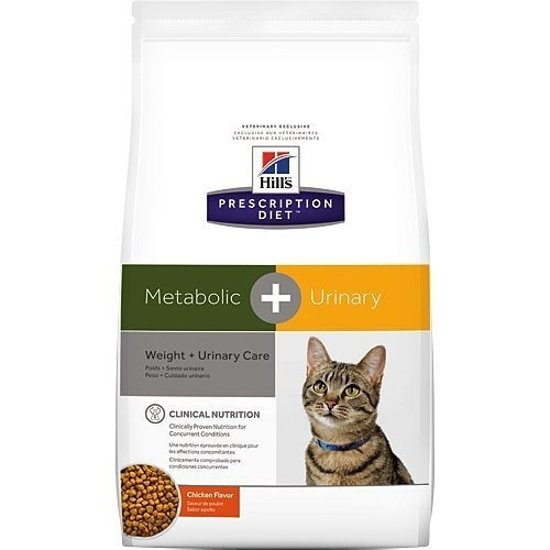 *寵物宜果配*希爾思Hill's《貓Metabolic + Urinary》12 lb / 5.44KG - 肥胖代謝+泌尿系統