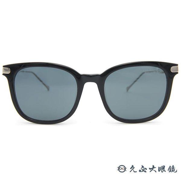 VEDI VERO 墨鏡 VE850 BLK (黑-銀) 方框 鈦 偏光太陽眼鏡 久必大眼鏡