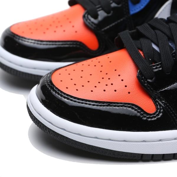 NIKE 籃球鞋 WMNS AIR JORDAN 1 MID 彩色 漆皮 女 (布魯克林) CV5276-001
