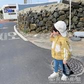 棉小班童裝兒童風衣男秋季新款韓商言同款男童連帽字母外套潮 晴天時尚館
